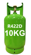 gas refrigeranti R422D -10kg Italia