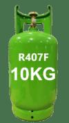 gas refrigeranti R407F - 10kg italia