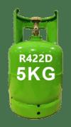 gas refrigeranti R422D - 5kg Italia
